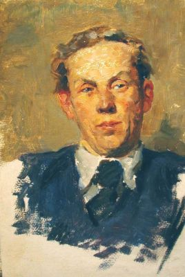 Aleksandr Romanychev - Portrait of a Man