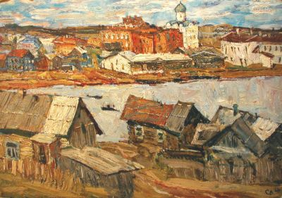Sold Works: Vladimir Skryabin - Old Ladoga