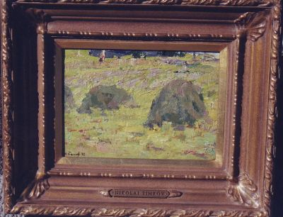 Sold Works: Nikolai Timkov - Haystacks