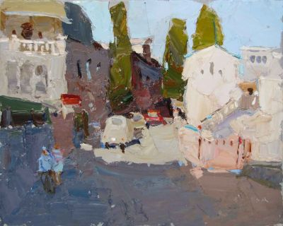 Select Sold Works: Daniil Volkov - In the Town in the South
