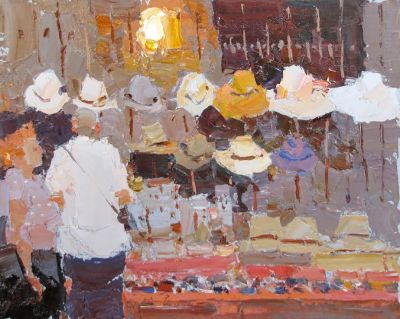 Select Sold Works: Daniil Volkov - That Hat is Not Bad!