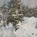 Sergei Kovalenko - Evergreens in the Snow